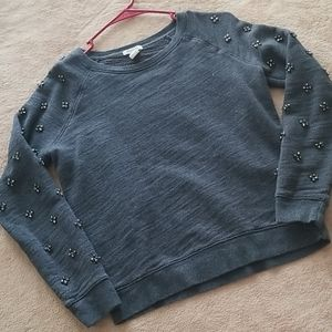 Beaded Sweatshirt